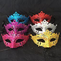 eye mask glittery xmas half