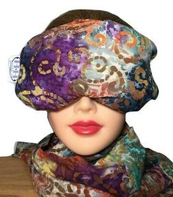 Eye Mask Lavender Eucalyptus,Sinus,Herbal Pack,Hot Cold Pack