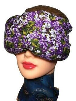 Eye Mask Lavender Eucalyptus,Sinus, Herbal Pack, Hot Cold Pa