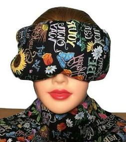 Eye Mask Lavender Eucalyptus, Sinus, Herbal Pack, Hot Cold P