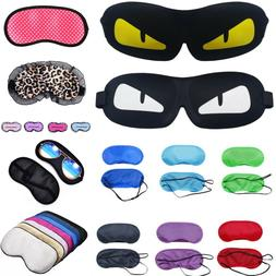 Eye mask Sleep Masks Travel Blindfold Sleeping aids - Ear Pl