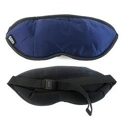Lewis N Clark Eye Mask Sleep Travel Shade Blindfold Cover Re