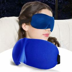 Eye Mask Sponge Cover 3D Aid Shade Relax Light Sleeping Padd