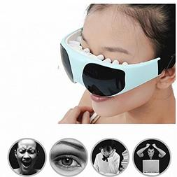 Eye Massager Eyes Safe Relaxation Mask Migraine DC Electric