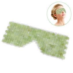 Eye Massager Natural Jade Eye Mask Stone Face Massager Sleep