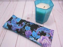 Eye Pillow Organic Lavender Flax Seed Fantasy Floral Aromath