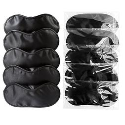 Z-Liant Eye Sleep Mask : 10 Pack Super-Smooth Travel Sleep M