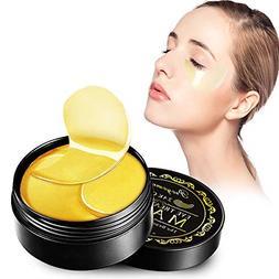 Eye Treatment Masks Under Eye Patches-24K Gold Eye Mask For