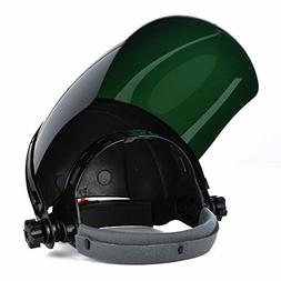 Ginode Full Face Grinding Shield with Ratchet Head Gear Viso