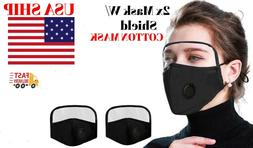 face mask eyes shield washable reusable 2