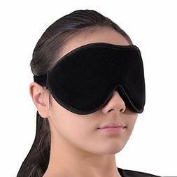 Fall To Sleep Blindfold Travel Sleep Mask Soft With 100% Lig