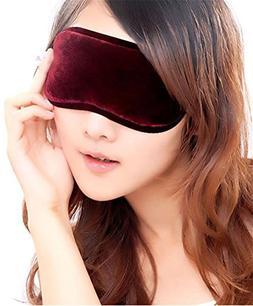 Fashionable Soft Eye Mask Shade Nap Cover Blindfold Sleeping