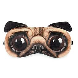 Zabrina FUUNY Creative Animated Cartoon 3D Dog Eyes Bulldog