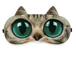 Zabrina Fuuny Creative Animated Cartoon 3D Cat Eyes Meow Sle
