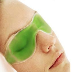 Gel Eye Mask Cold Pack Warm Hot Heat Ice Cool Soothing Tired