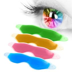 Relaxing Gel Eye Mask Cold Pack Warm Ice Cool Soothing Tired