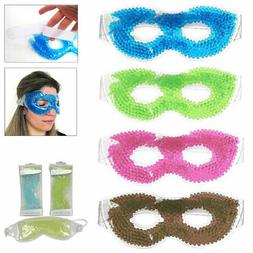 Gel Eye Mask Cold Pack Warm Hot Heat Ice Cool Thermabead Soo