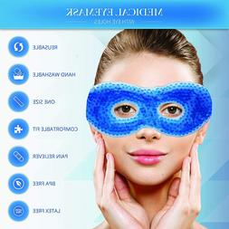Gel Eye Mask Therapeutic Hot/Cold Reusable Eye Compress For