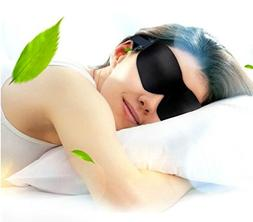 Generic Black Eye Mask Sleep Mask Cover Blindfold Sleeping T