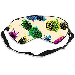 Glasses Pineapple Sleep Mask Mulberry Silk Eye Masks Blinder