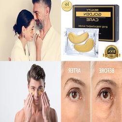 Gold Collagen Eye Treatment Mask Reducing Dark Circles Puffi