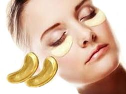 GOLD EYE LIFT MASK 6 PACK REDUCE PUFFINESS MINIMIZES WRINKLE