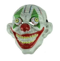 Green Eye Old Looking Creepy Googly Eyed Clown Mask