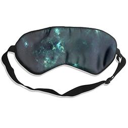 C-JOY Green Star Adjustable Eye Shade Patch Sleeping Eye Mas