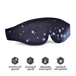 Heated Eye Mask - USB Dry Eye Mask, Electric Heating Eye Mas
