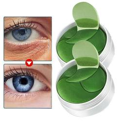 HOT Black Pearl Eye Mask Anti-Wrinkle Dark Circle Collagen U