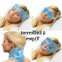 hot cold beaded gel mask neck shoulder