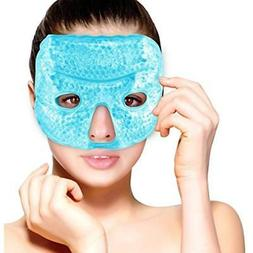Hot Cold Packs Therapy Gel Bead Facial Eye Mask By Care Ice