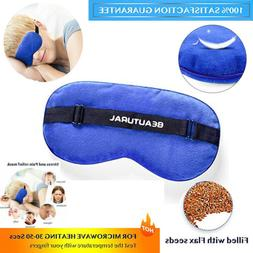 Beautural Hot Dry Eye Mask Dry Eyes Moist Heated Compress So