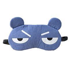 HBOS Ice compress Sleeping Mask Weird eye Cover Female Sunsh