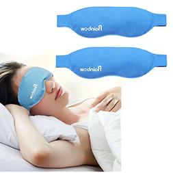 Ice Gel Eye Mask Hot Cold Therapies, Reusable Compression Pa