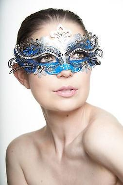 KAYSO INC Exclusive Eyes of Angel Laser Cut Masquerade Mask