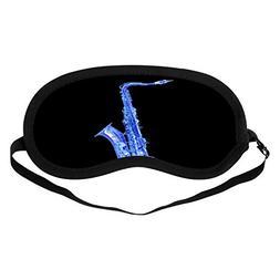 HAYSTACKIT Jazz-Keychain Sleep Mask Black Skin-Friendly Comf