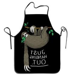 Just Hanging Out Women Stylish Kitchen Apron Vintage Aprons