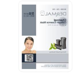 DERMAL Collagen Essence Facial Mask Sheet - Charcoal