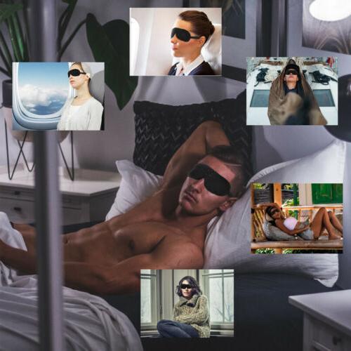 2x Mask Sleep Cover Relax Sleeping Blindfold
