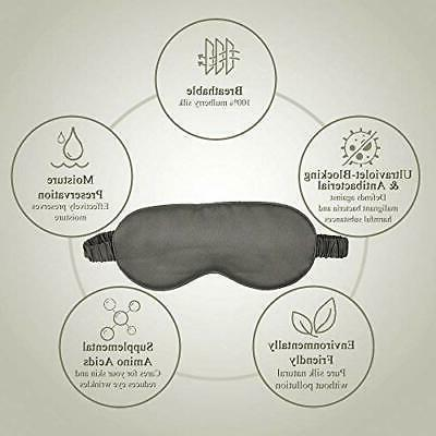 100% Sleep Cover Relax Aid Blindfold