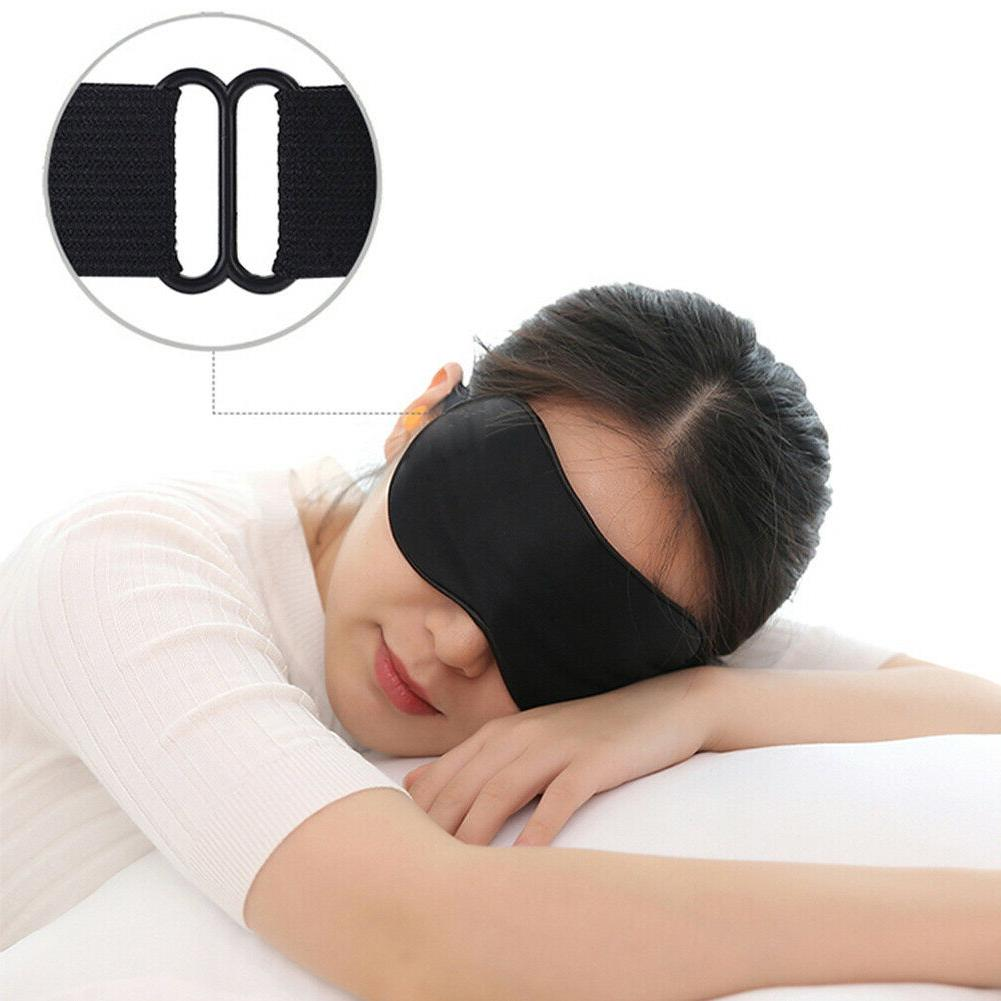 100% Mulberry Eye Mask Cover Travel Relax Blindfold