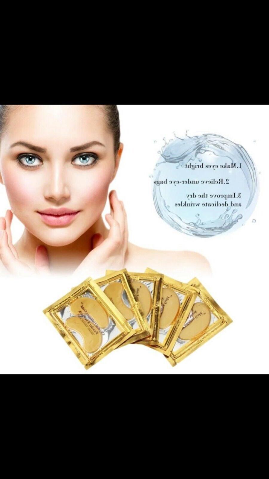 10pc Gold Powder Eye 10pc Collagen Combination