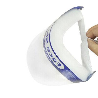 10X Full Anti-fog Mask Clear Helmet