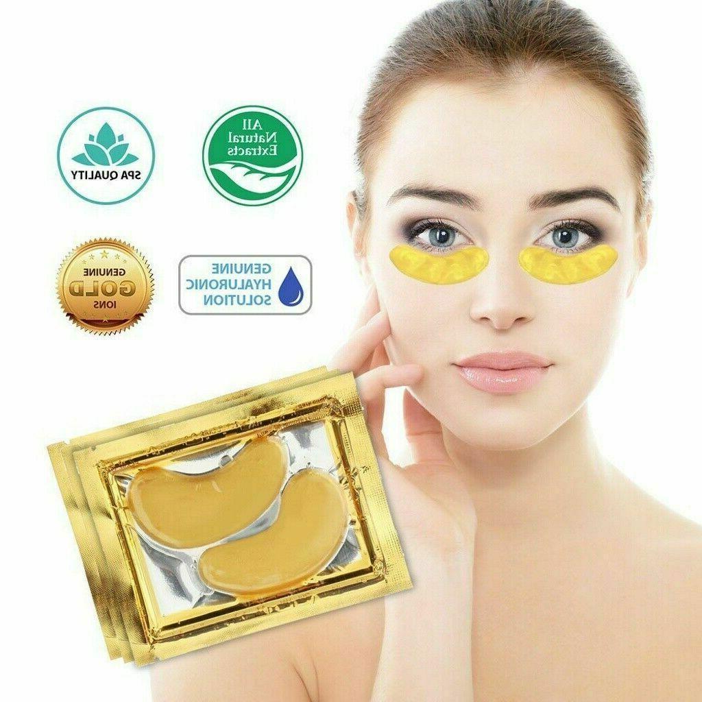 20 Pairs Mask Gold Patch Anti Dark Circle Gel