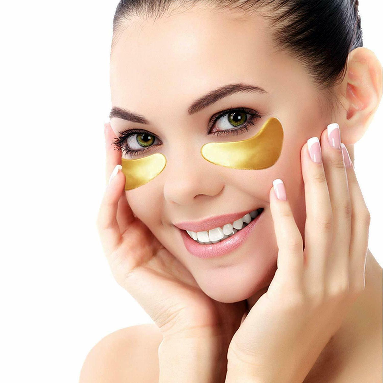 20 Pairs Under Mask Collagen Patch Wrinkle Dark Circle Gel