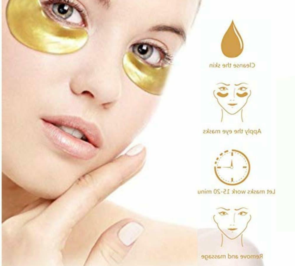 20 Pairs Mask Eye Patch Circle Pad