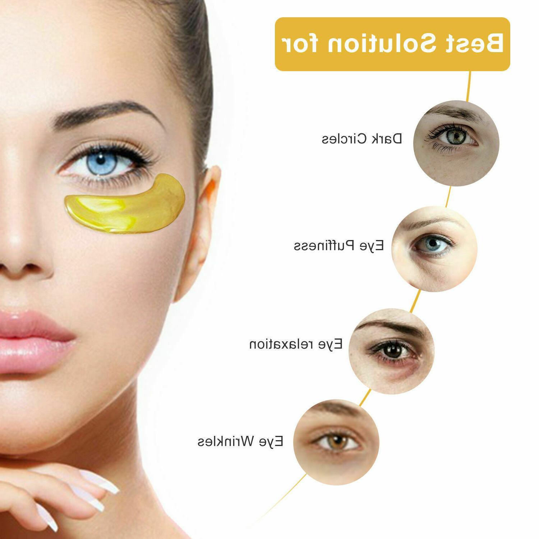 20 Mask Patch Wrinkle Circle Gel