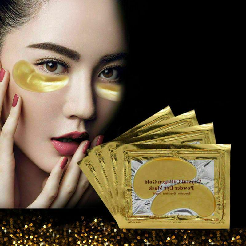 20 Pairs Mask Gold Collagen Eye Patch Circle