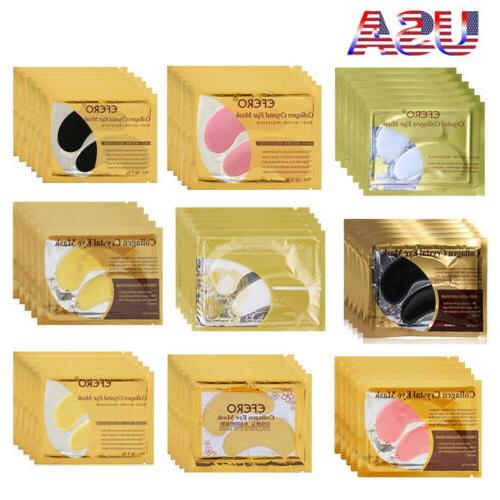 20pack crystal collagen eye mask patch wrinkle
